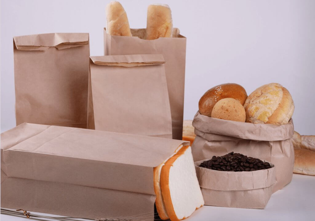 Custom Paper Takeout Bags