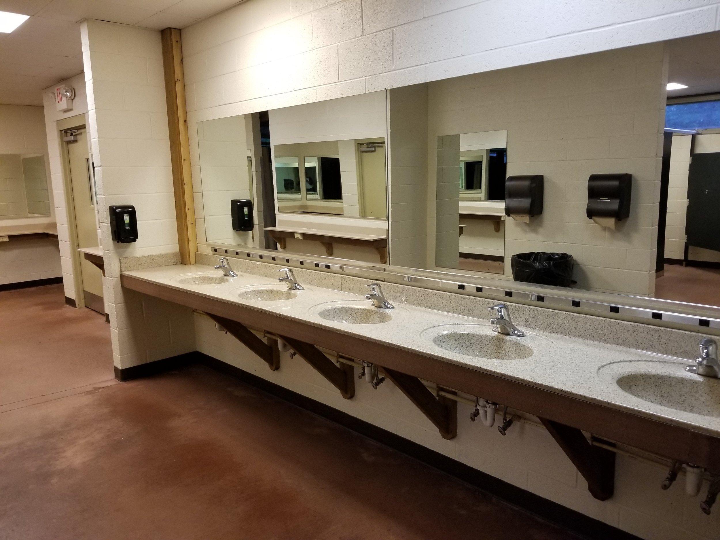 Inside a Bathhouse