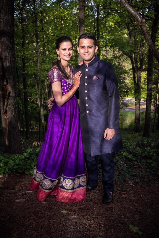 """Nehal Shah - Utopian Events was exactly what my family and I were looking for when we started planning my wedding. I first met Shushil back in August, 2015 to see if Utopian Events could provide the type of service and décor I was looking for. Utopian Events had a range of options that perfectly suit not only simple, intimate weddings but also the more lavish kind. Along with the décor, the service provided by Shushil was nothing short of perfect. He was quick to respond to all communications, attentive to detail, provided competitive rates and made time to visit the site to ensure we were both on the same page for the four events: graha shanti pooja, sangeet, wedding ceremony and reception.For the sangeet, we chose to go for fun and vibrant colored table covers, lanterns, cushions, and furniture that matched the street-food carts we had set up on the hotel lawn. The outdoor wedding and reception were both simple yet elegant. Shushil and his team set up a beautiful mandap in a garden that perfectly complimented the greenery of Atlanta. The reception on the other hand was stunning and sophisticated with blush pink linens, ivory colored flowers, a white sofa and beautiful draping. There isn't one thing that I would've changed! I'm very grateful to Utopian Events for turning my vision of my """"big day"""" into a reality."""