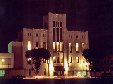 Masonic Temple, Night