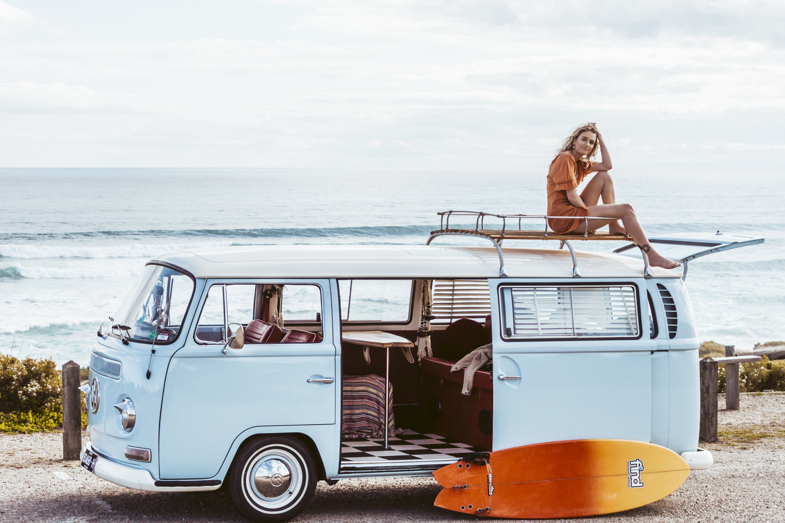Chelsea Jarrot - Kombi Van Shoot - Rye Back Beach