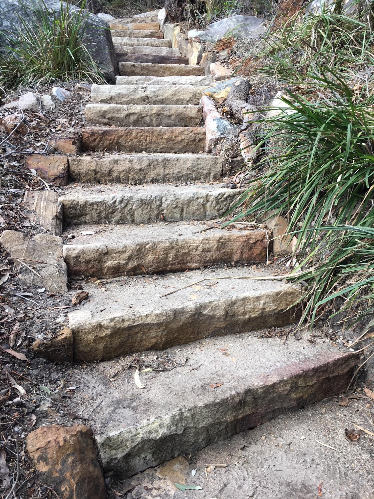 Handmade Natural Steps