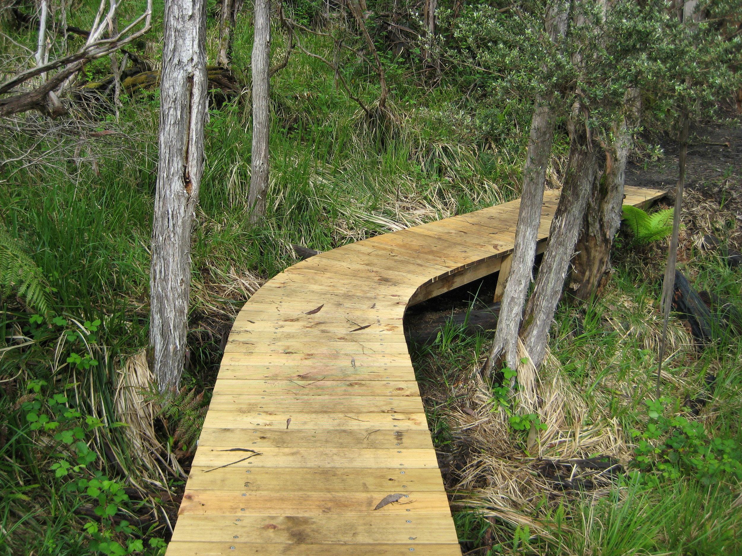 Completed Boardwalk