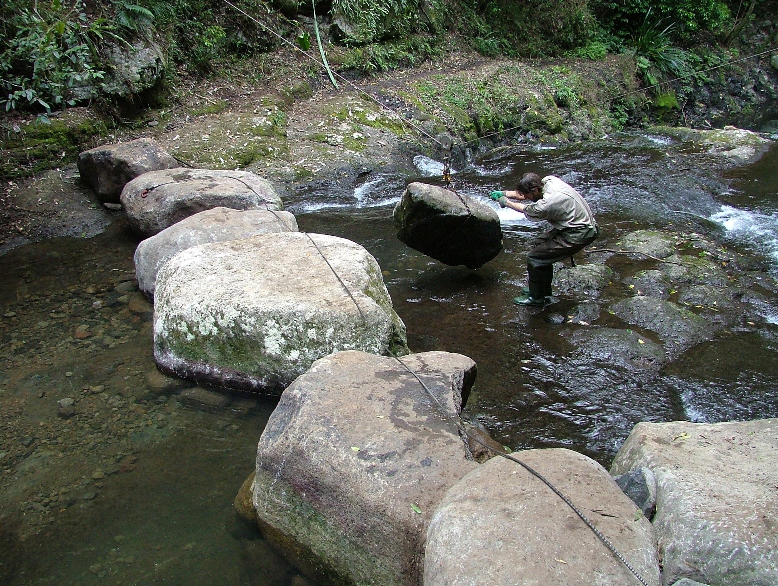 Natural River Crossing