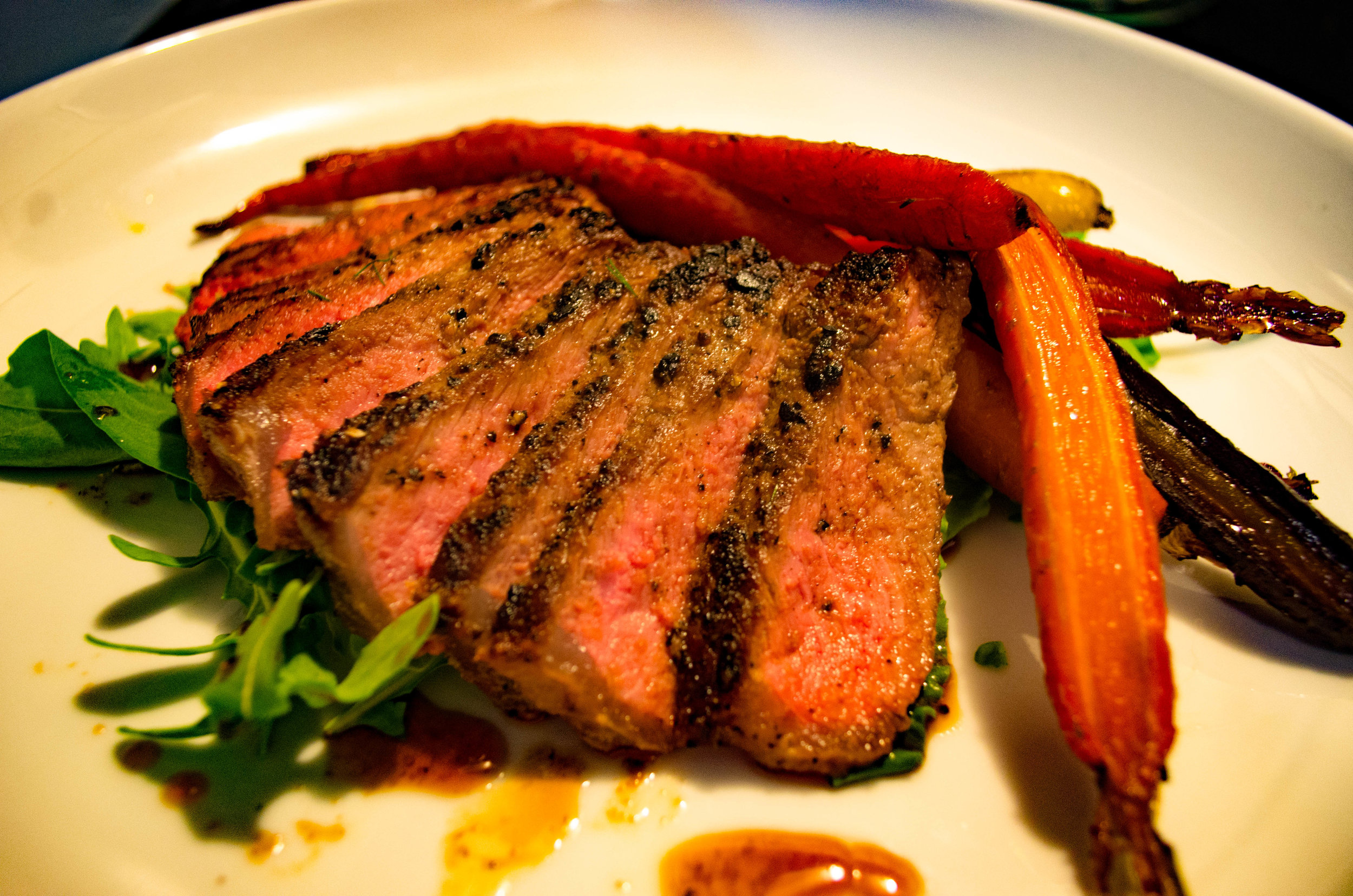 Flank Steak Entree