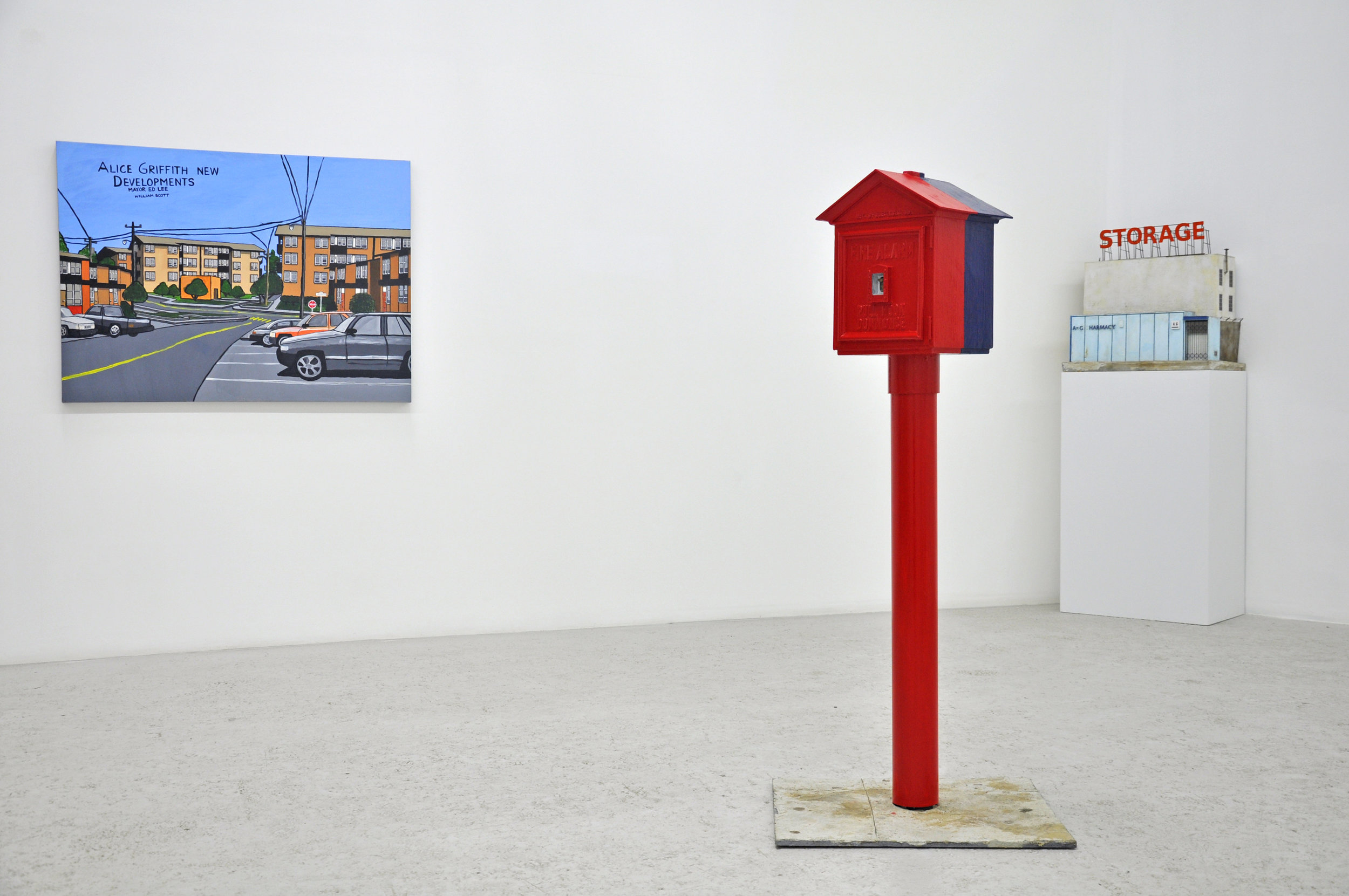 Installation View | Skyline Friendly Organizations