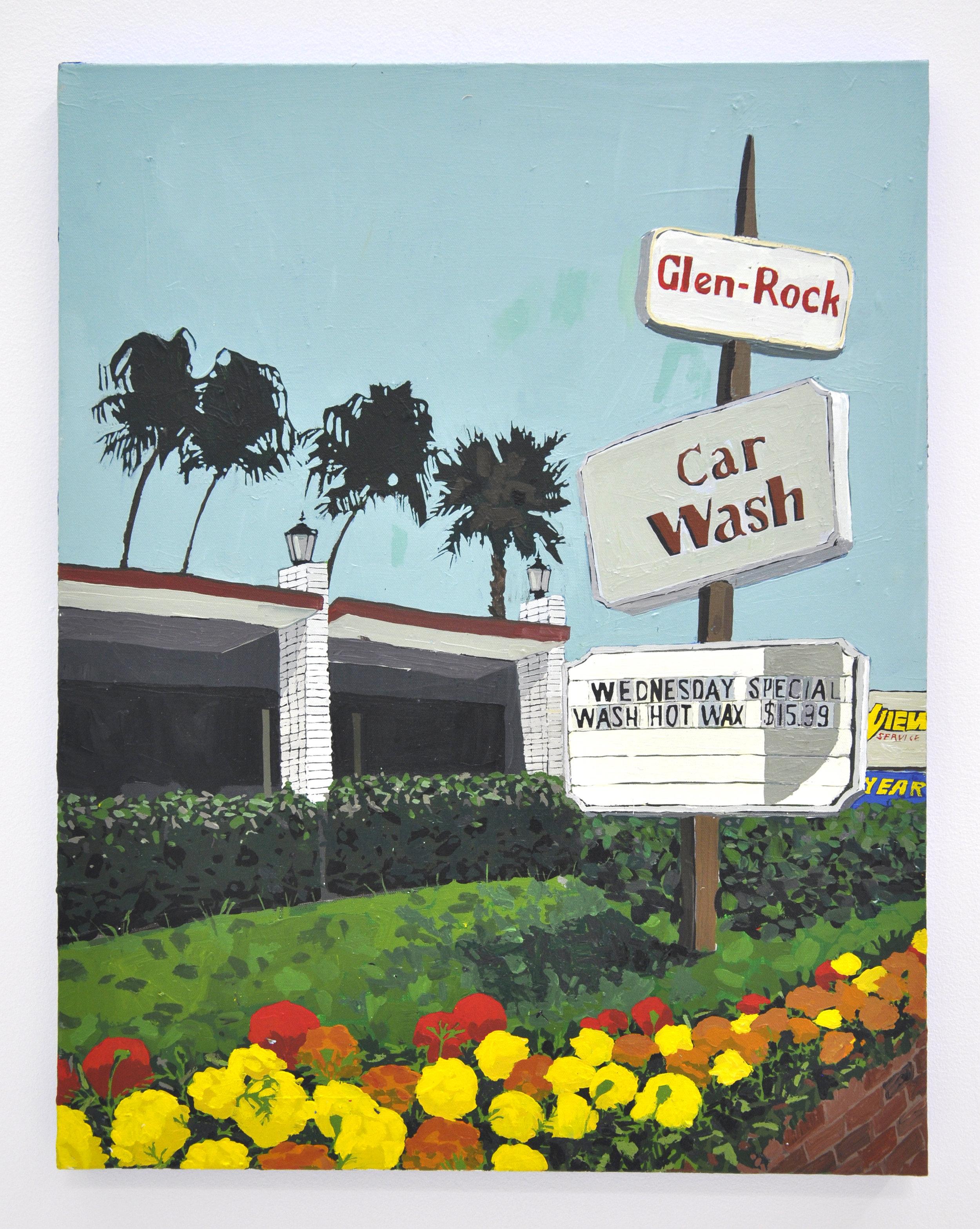 """Glen Rock"", 2018, Acrylic on Canvas, 28 x 22in"