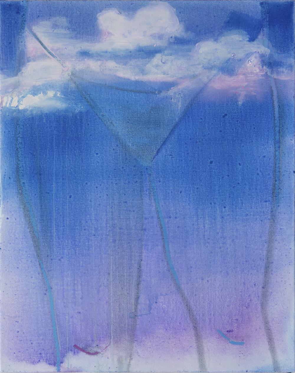 """Anna Schachte, """"Heat Wave,"""" 20 x 16 in, 2018"""