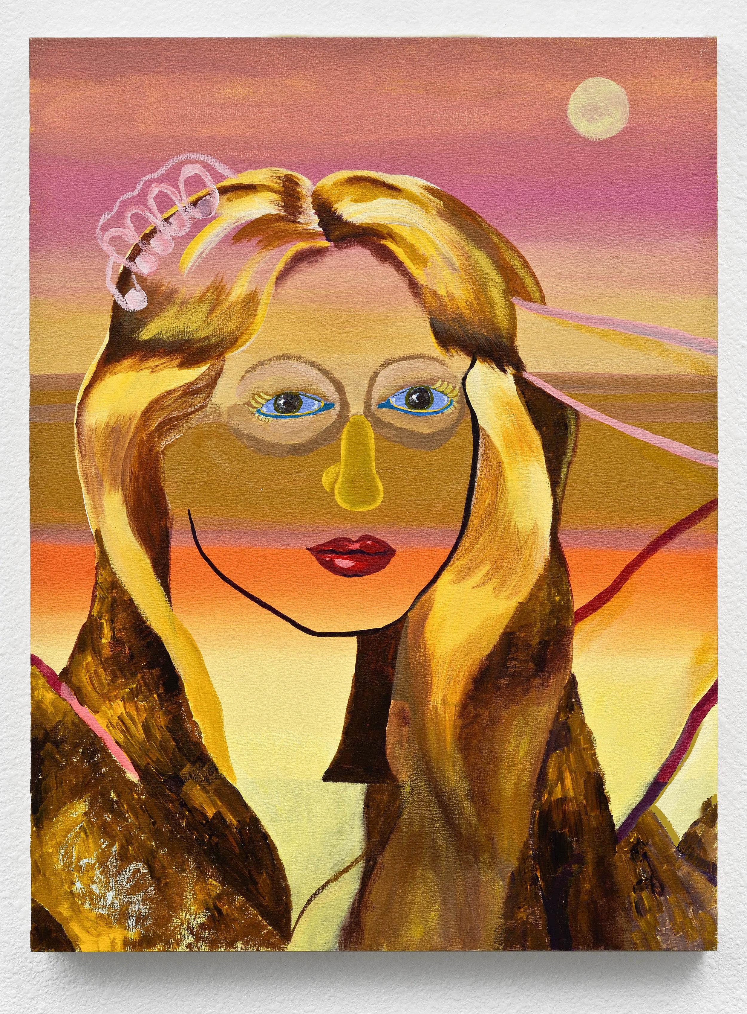"""Bruna Massada, """"California Sunset,"""" 18 x 24 in, 2012"""