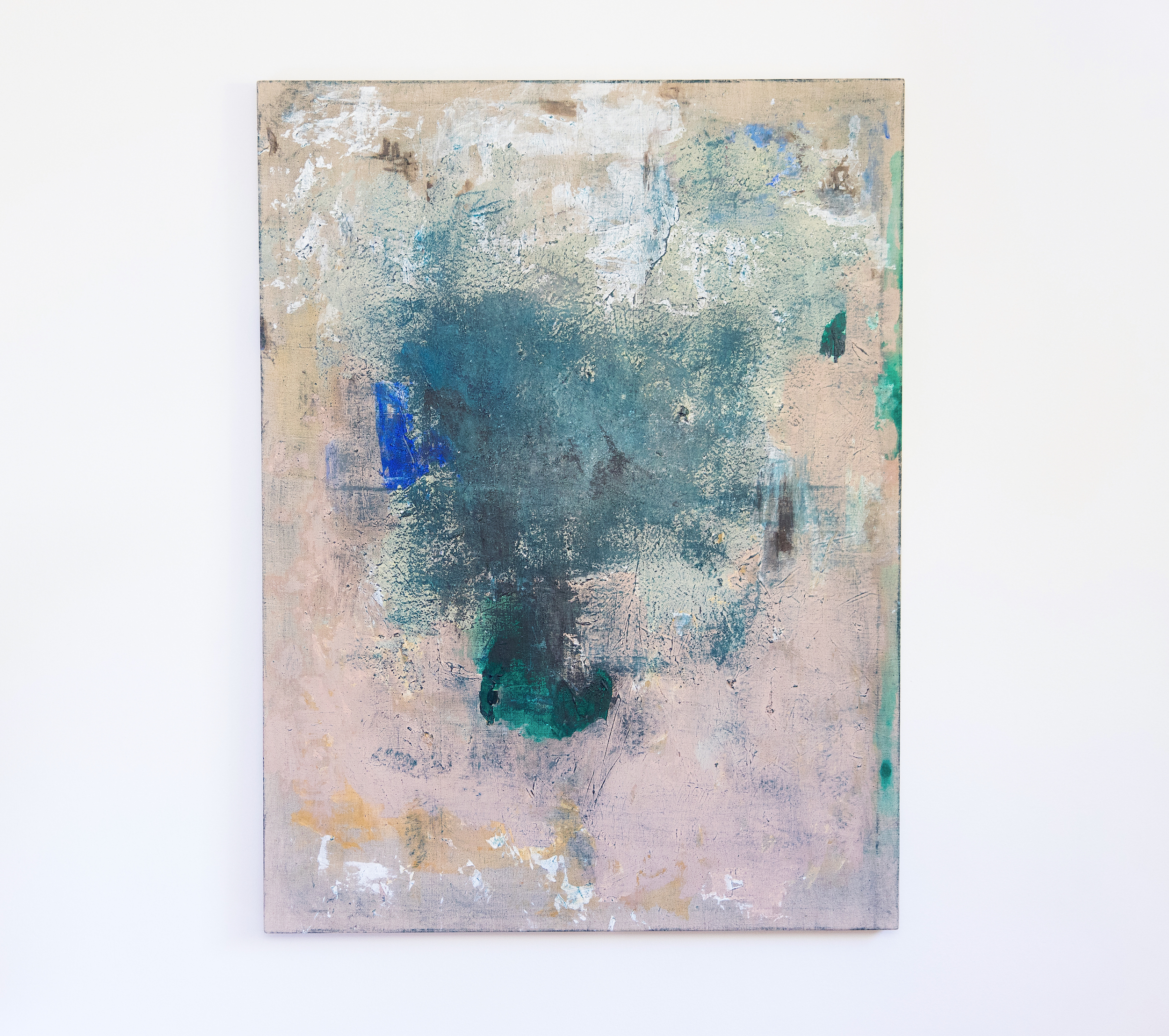 "Lindsey Lyons, ""Pond,"" 48 x 36 in, 2018"