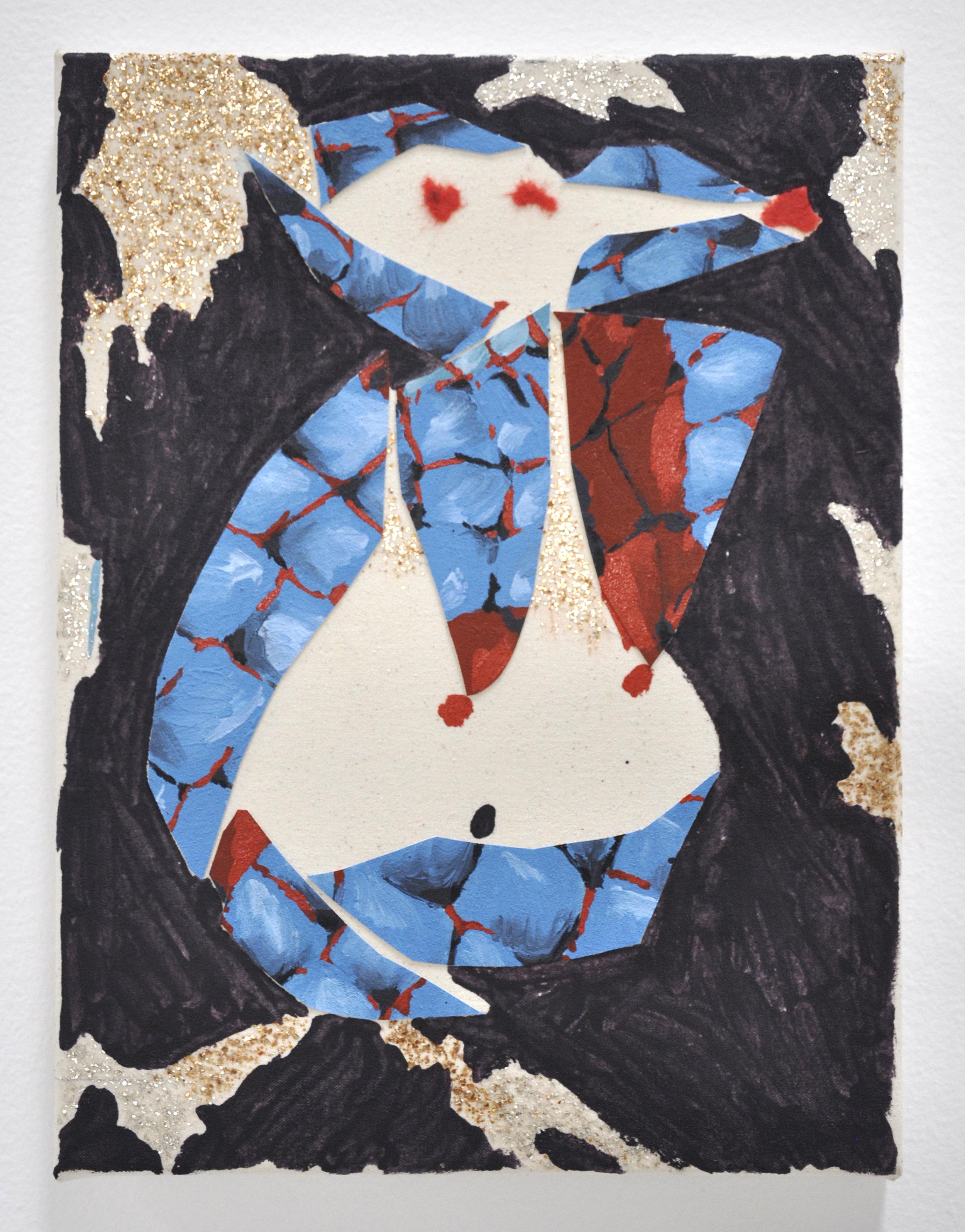 "Mayasha Mohamedi, ""Joan Didion New York,"" 12 x 18 in, 2018"