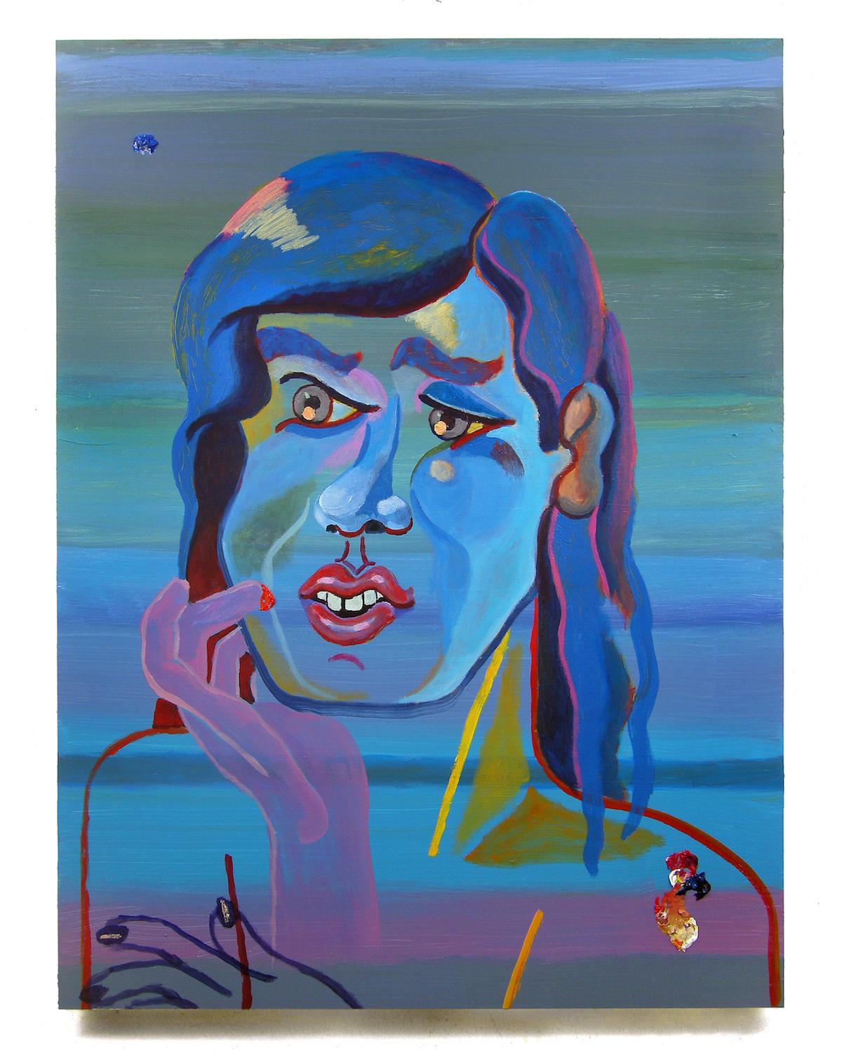 """Bruna Massadas, """"Parhydermus Dog Bridge"""", glazed ceramic, 14 x 2 x 15 in, 2013"""