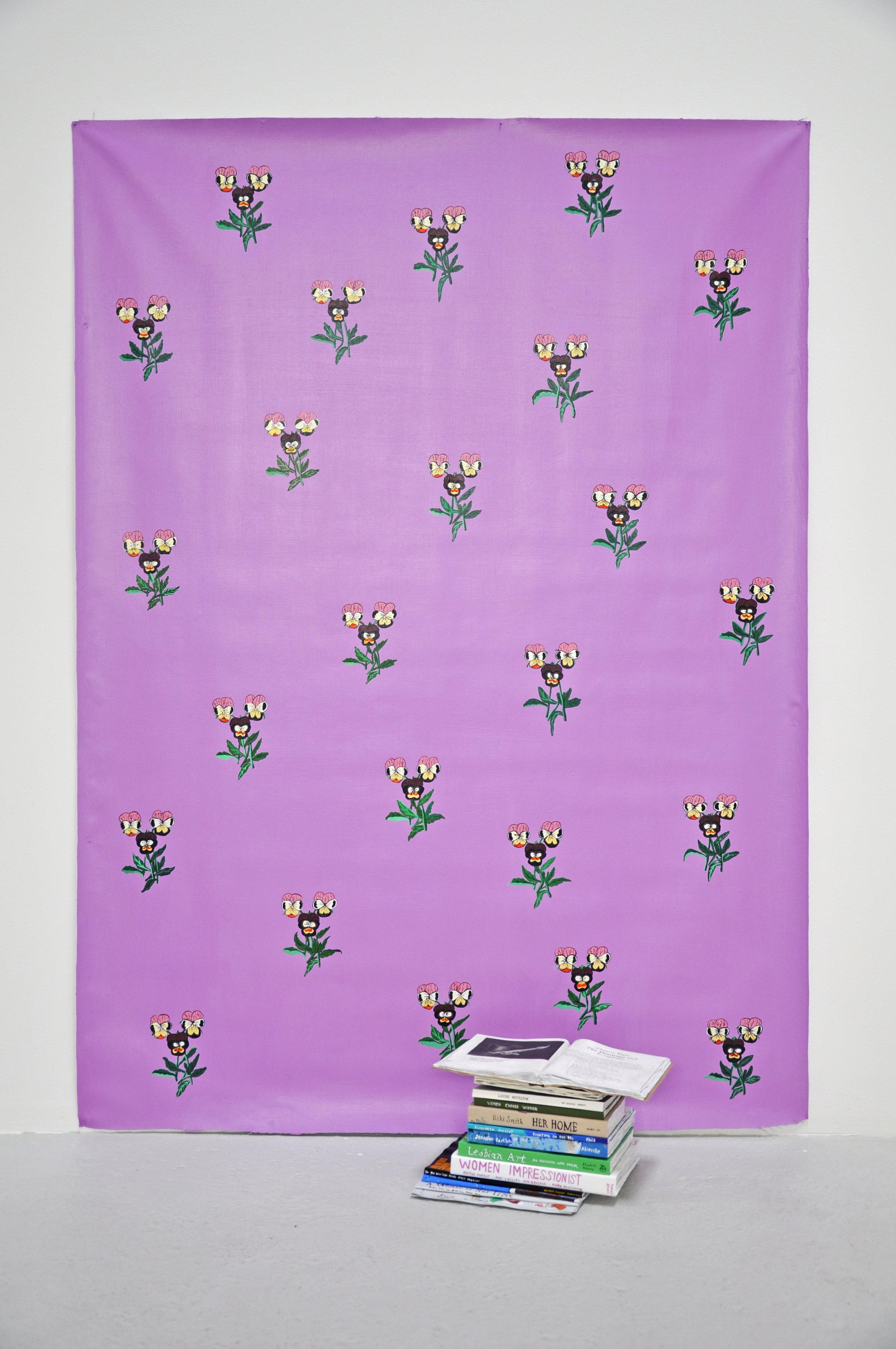 "Libby Black, ""Enduring Spirit"", paper, glue, acrylic paint, 79 x 57 1/2 x 20 in, 2018"