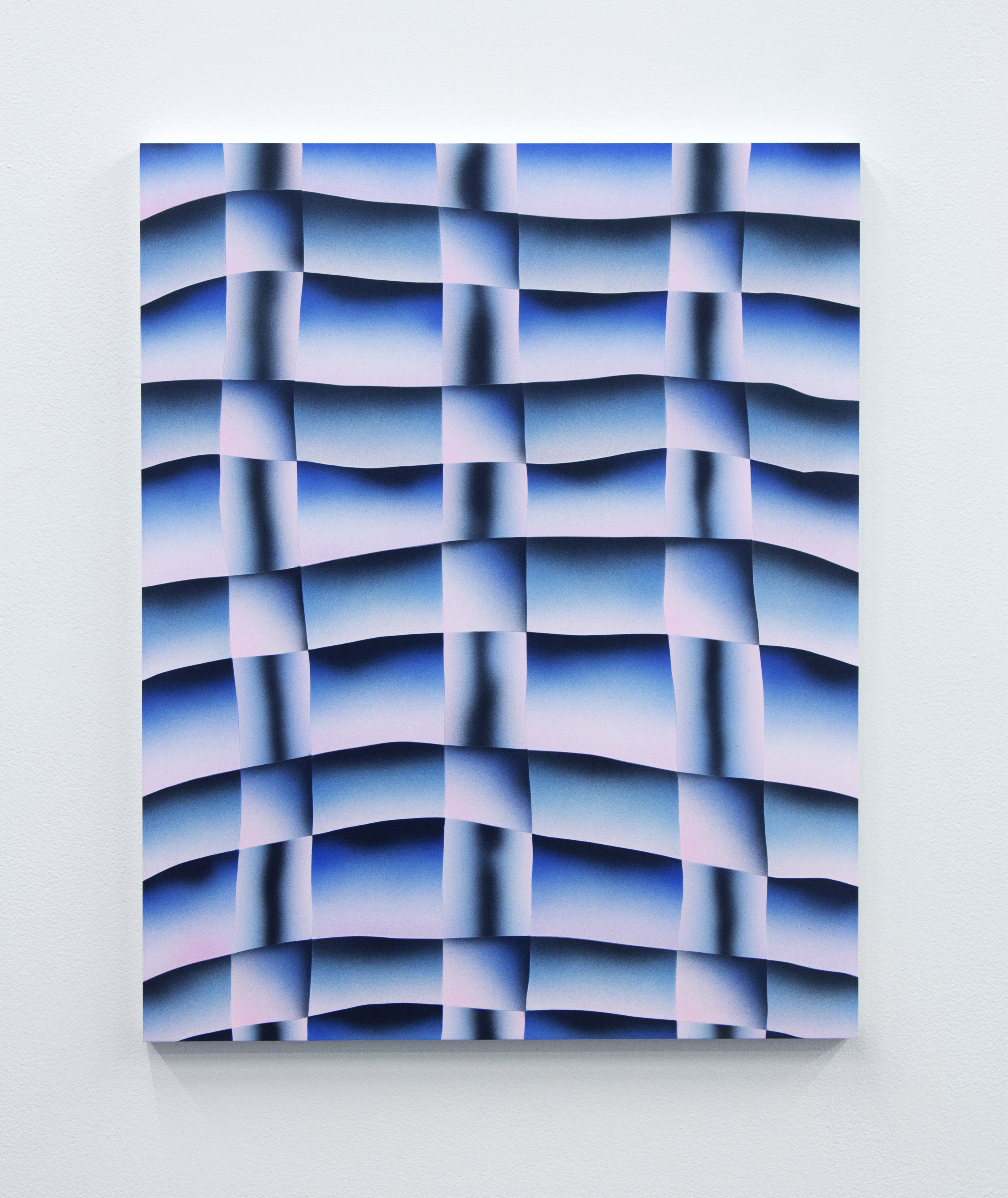Brian Willmont, Untitled, acrylic on wood panel, 20 x 16 in, 2017