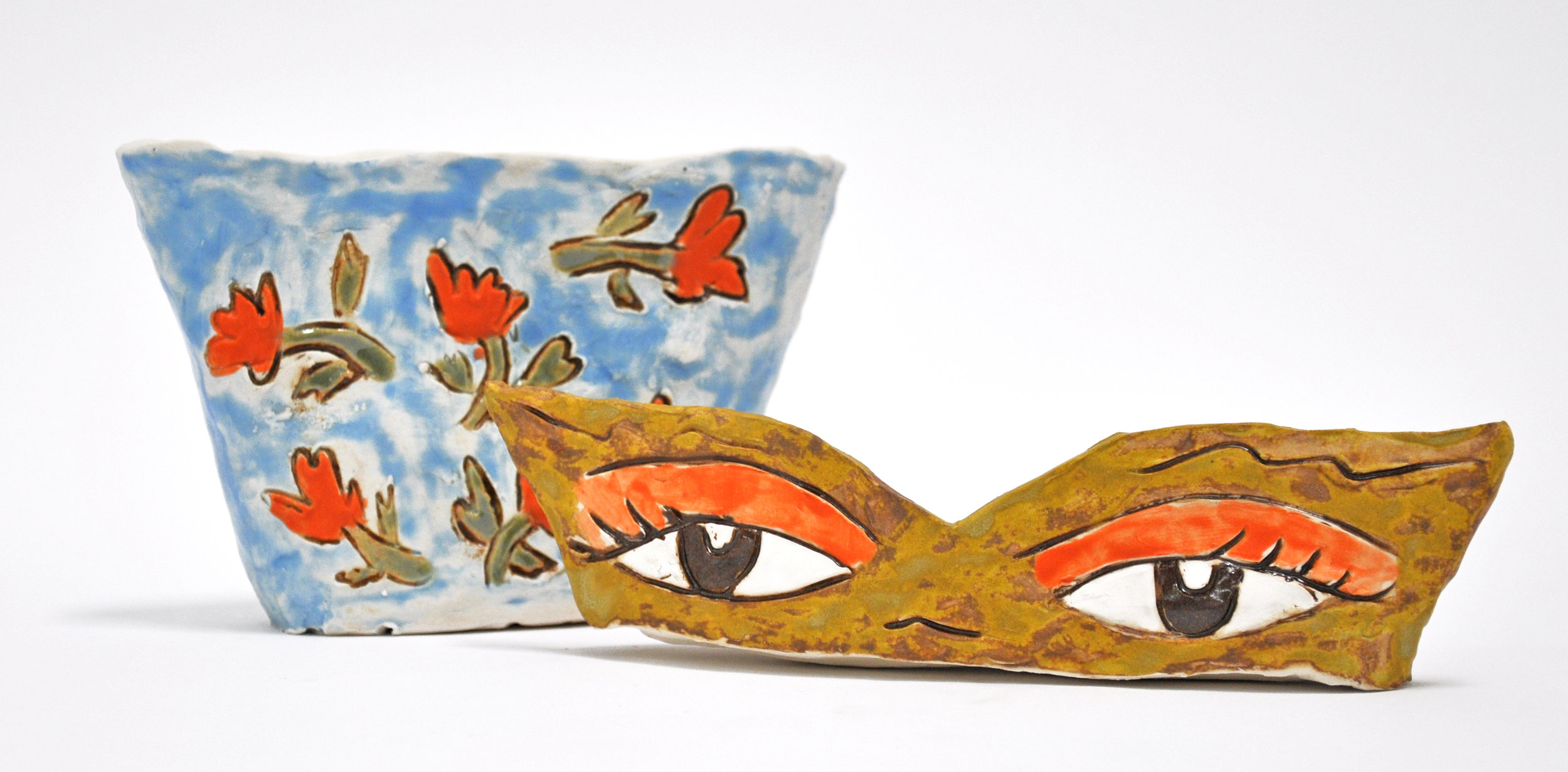 "Maryam Yousif, ""Eye Pot: Puabi's Eyes"""
