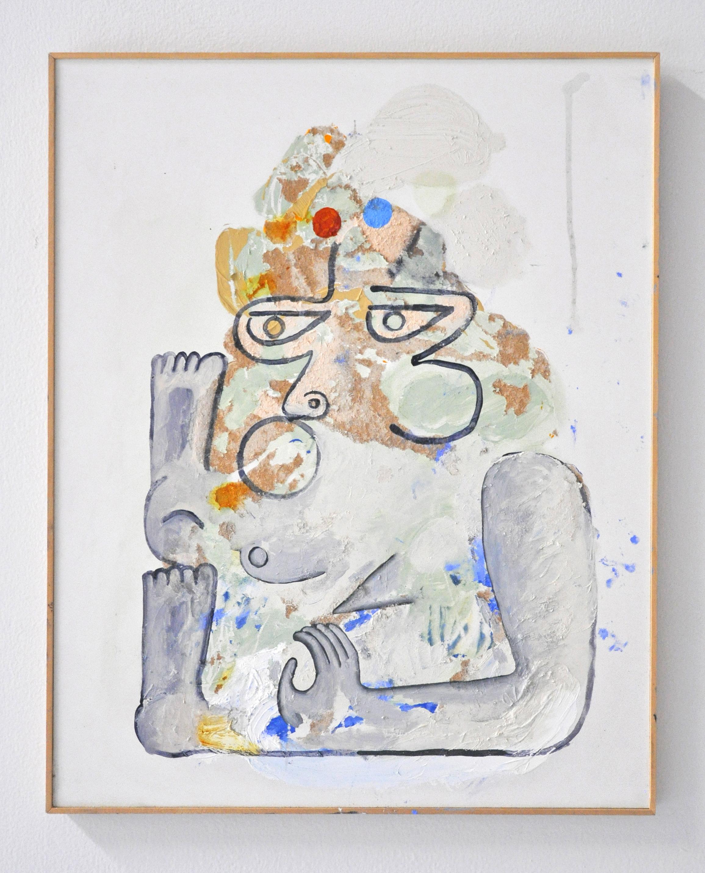 DEVANDRA BANHART PLEASURE OF NO MAN, Acrylic on paper, 16 x 20 in, 2019 $3000
