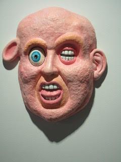John DeFazio PIG HEADED TRUMP, Plaster and mixed media, 18 x 16 x 5 in 2019 $5,000