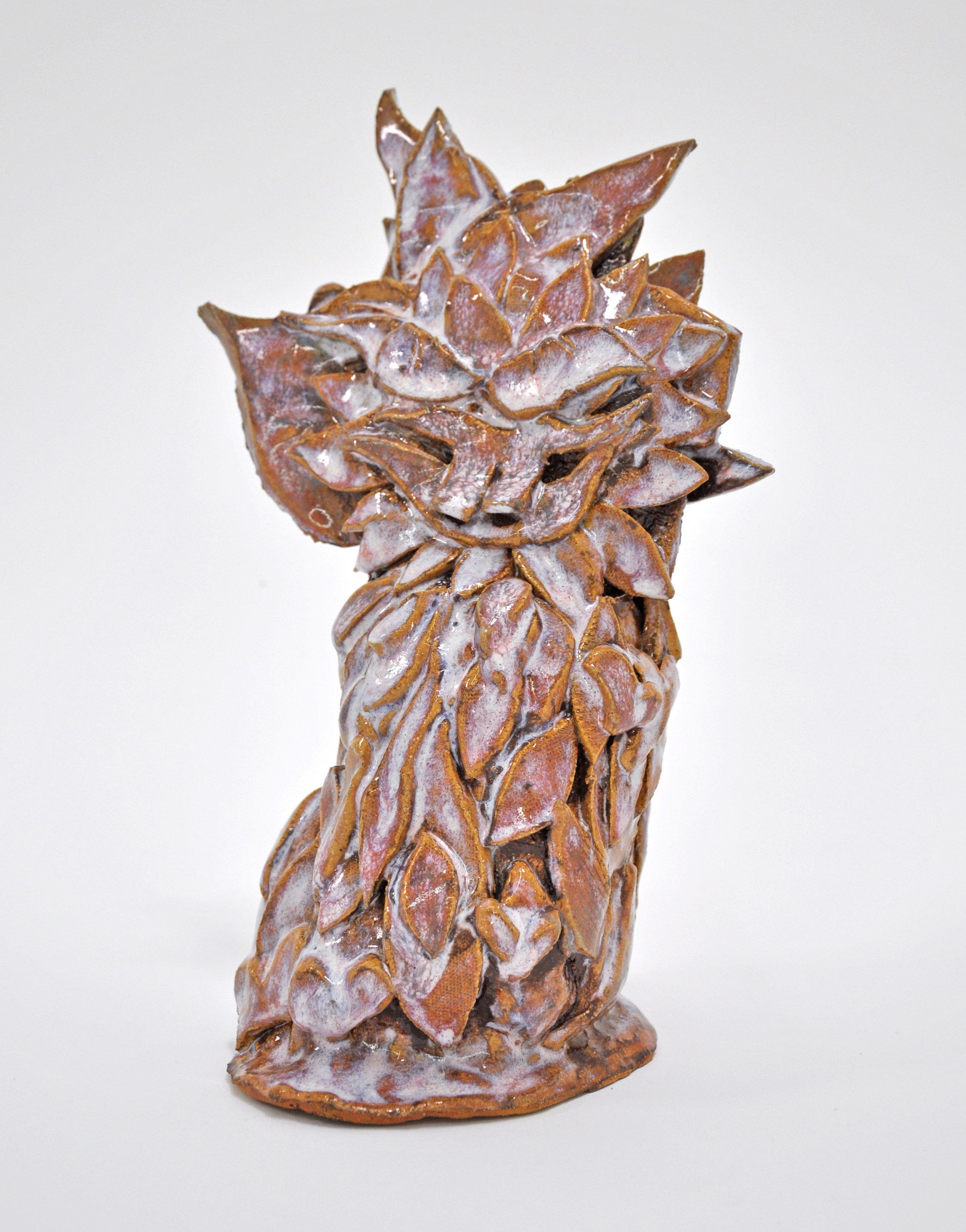 "Copy of Jamie Felton, ""Desert Sunflower"", 11 x 4 x 5in, Glazed ceramic, 2019"
