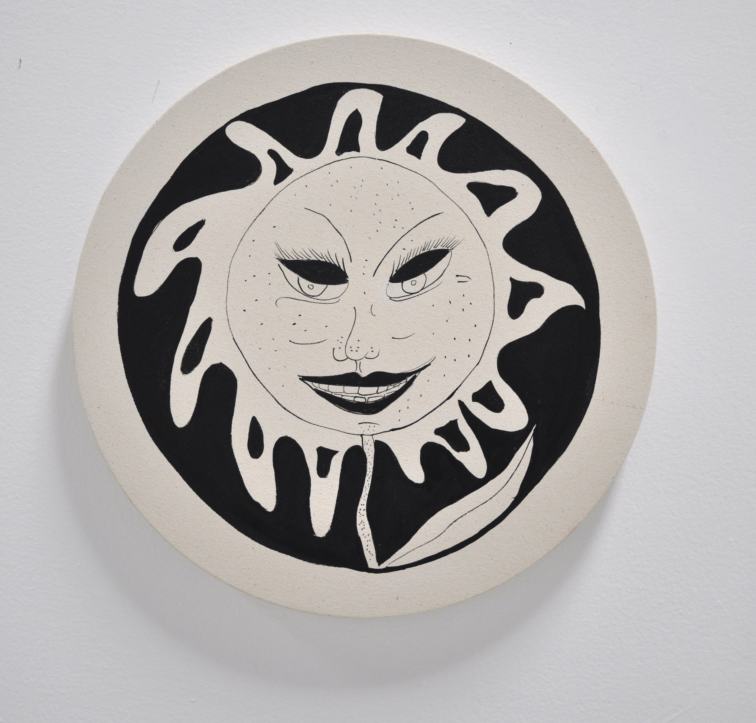 "Copy of Jamie Felton, ""Neglected Sunflower"", 18 x 18in, Glazed ceramic, 2019"