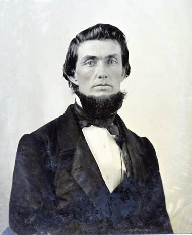 Prof. James Lowry Smith,    Principal of Salado College and charter member of First Baptist Church, 1864.