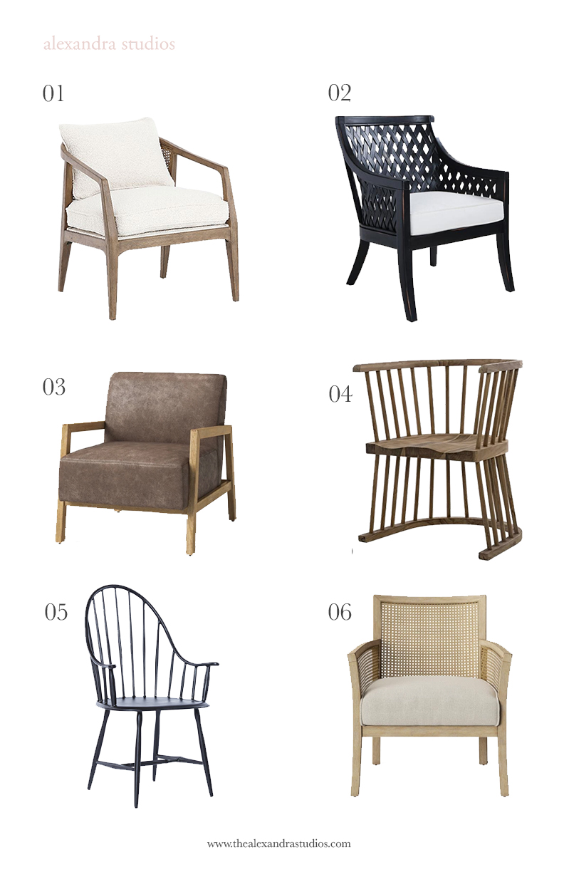 Modern Traditional Accent Chairs for Your Living Room — Alexandra ...