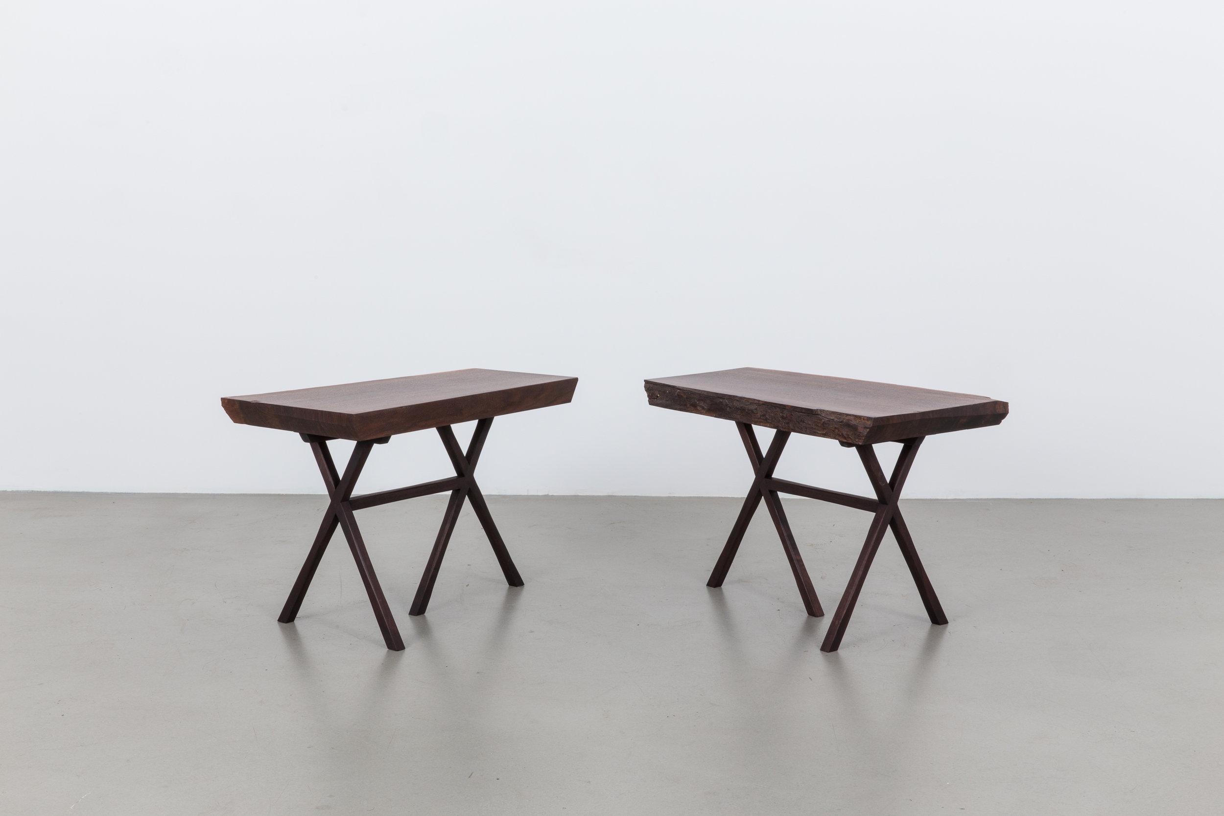 'X' Side Table, Braxton Alexander.