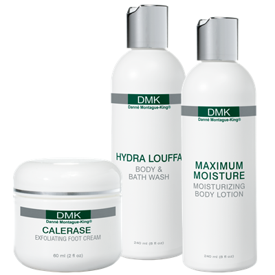 SPA BODY   Rid yourself of cellulite, stretch marks and get the body shape you want with DMK's specialised spa body range