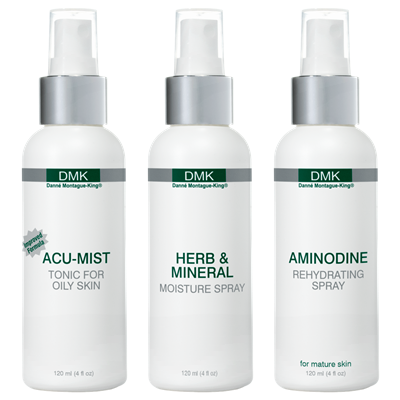 SPRITZES   Moisturisers designed to provide a barrier, protecting your skin by replicating your own natural acid mantle