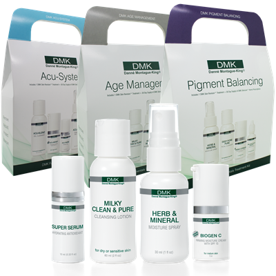 FUNDAMENTALS KITS   Contains all you need for in-clinic treatments plus a 30 day supply of maintenance products for home use.
