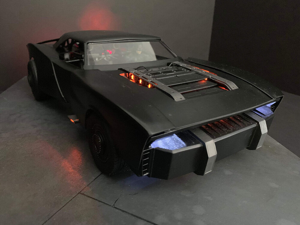 """The Batman"" batmobile by Concept Model Maker Jeff Frost."