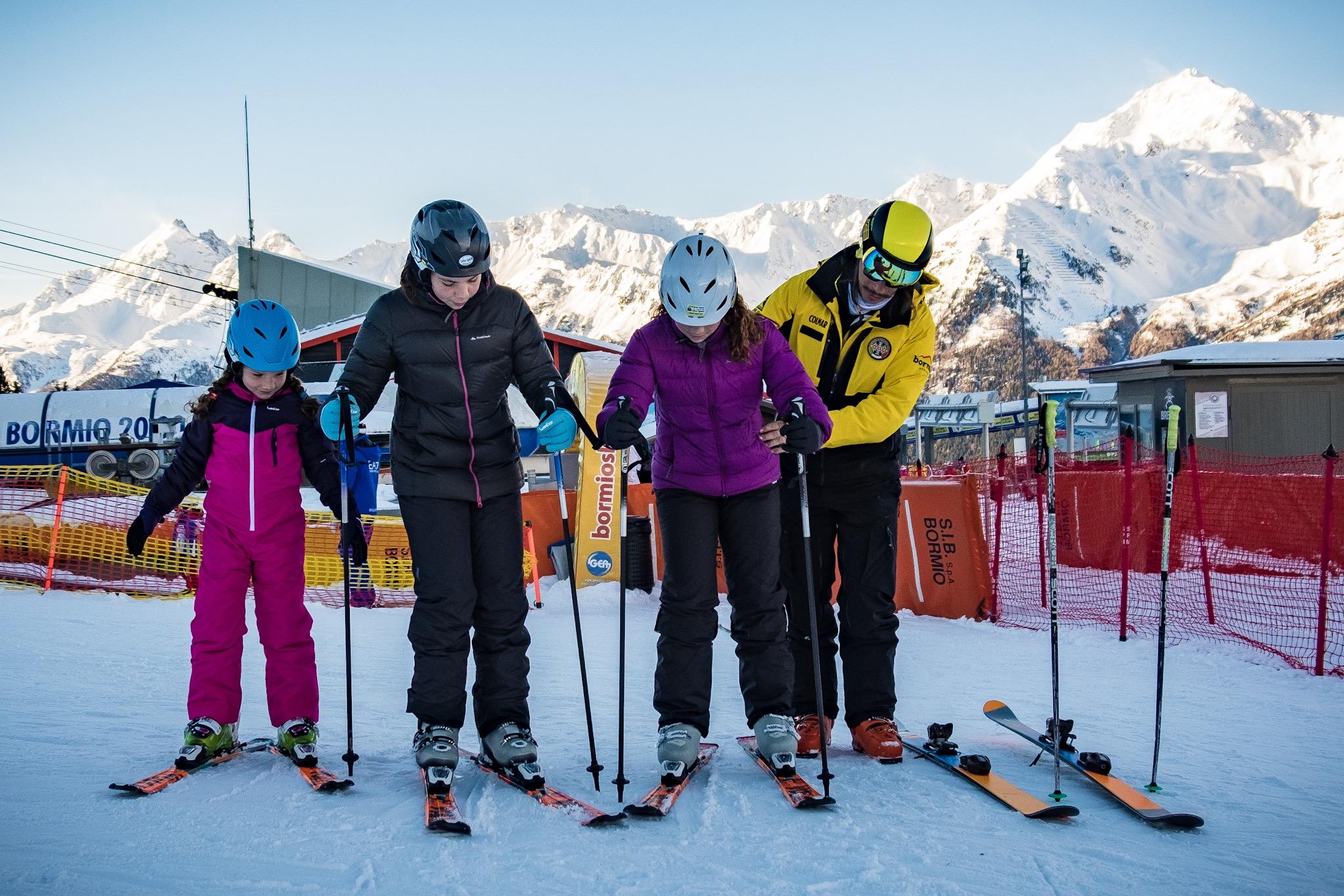 2 hour ski lessons with 'Ninja'