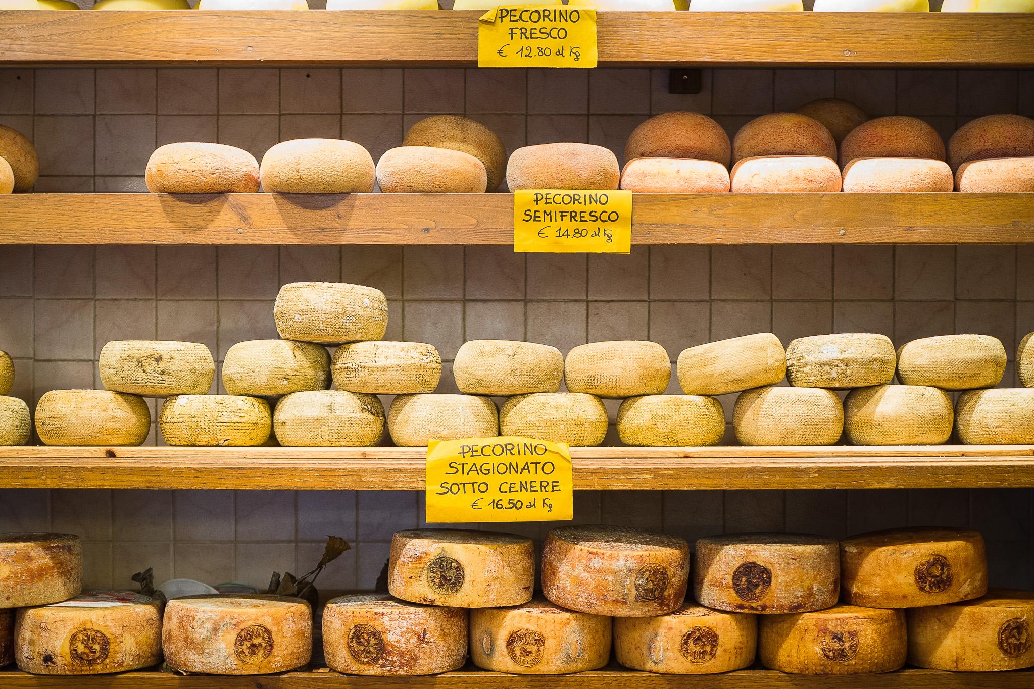 Gorgeous Pienza, the home of pecorino cheese!