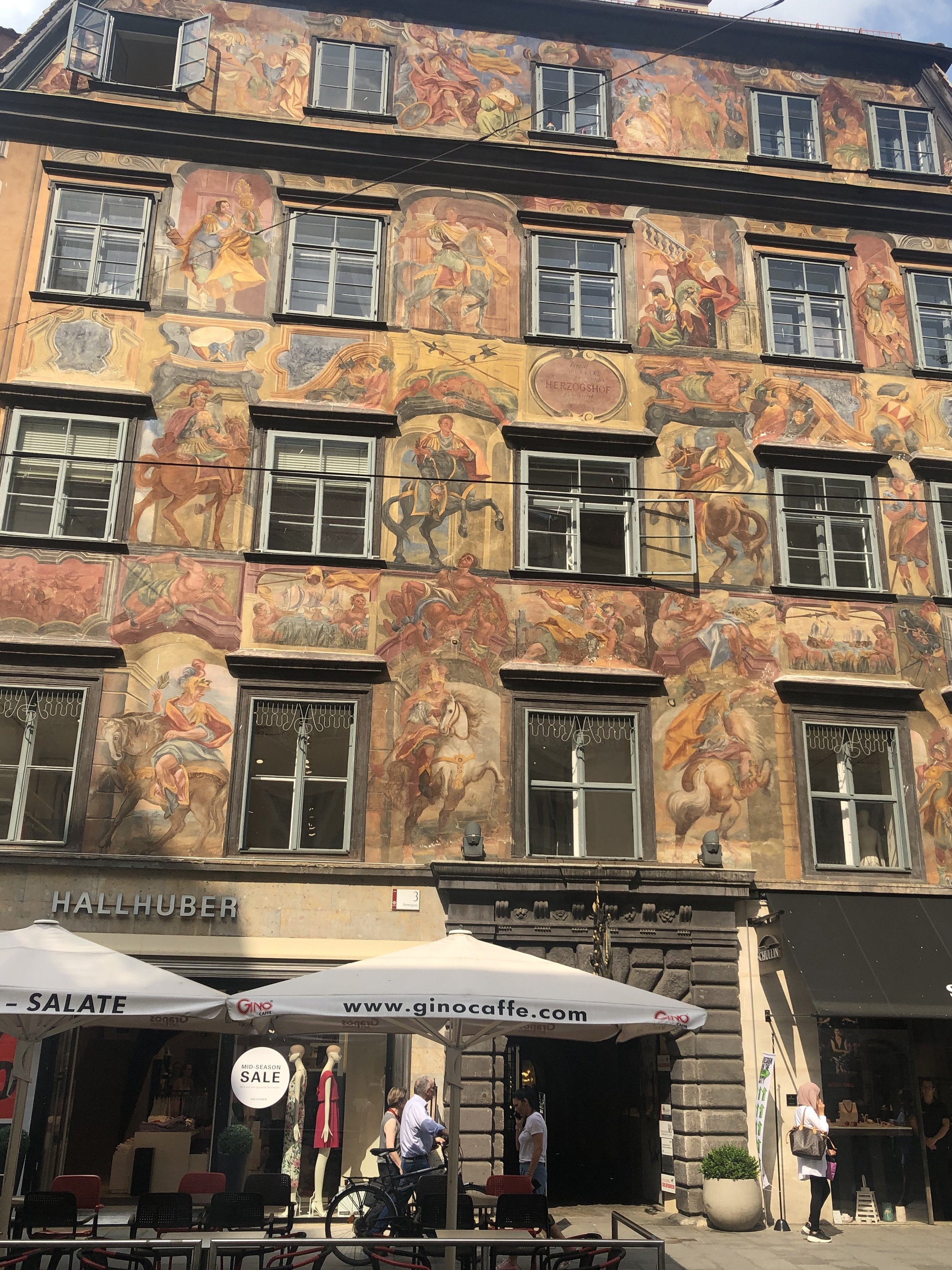 Gorgeous old town of Graz