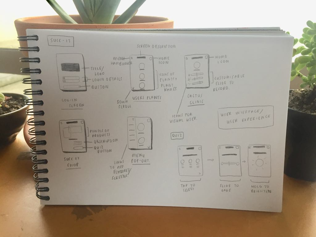 UI/UX function exploration and initial conceptual sketches/ ideas