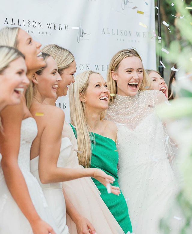 A L L I S O N W E B B N Y C We can't believe it's been a year since we planned the @allisonwebbnyc runway show here in Nashville along side @whitedressesnashville ! This is one of our favorite dress boutiques in the city! Flashing back to this day and smiling big! PC @whitneywoodall_photography