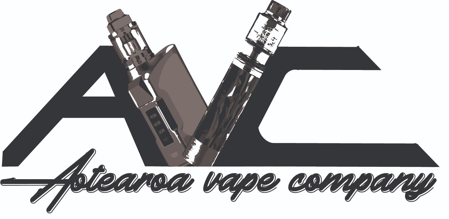 Aotearoa Vape Company - Black on white logo.
