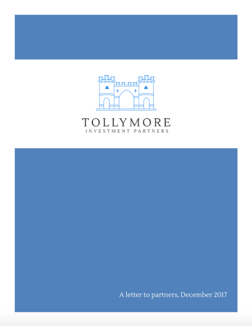 Tollymore letter Dec 2017