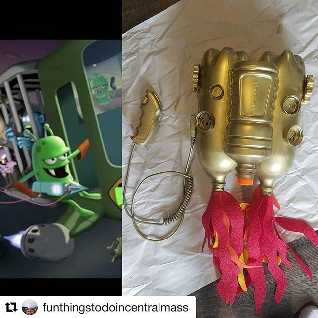 How cool is this! Happy halloween all! #fanart #zombiecatchers @funthingstodoincentralmass with @repostapp ・・・ Owen likes to play the game Zombie Catchers. HE asked me to make him a jet pack for halloween, so he can be one for Halloween. @zombiecatchers for Halloween #halloween #halloweencostume #diy #diyhalloween #upcycled @michaelsstores #jetpack #halloweencostume #diyhalloweencostume
