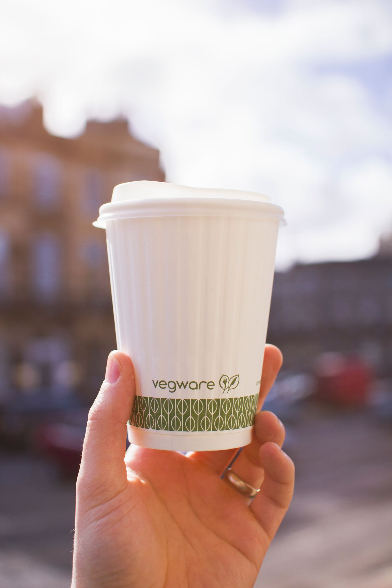 Composting coffee cups - new waste service composts Bristol's plastic-free takeaway packaging -