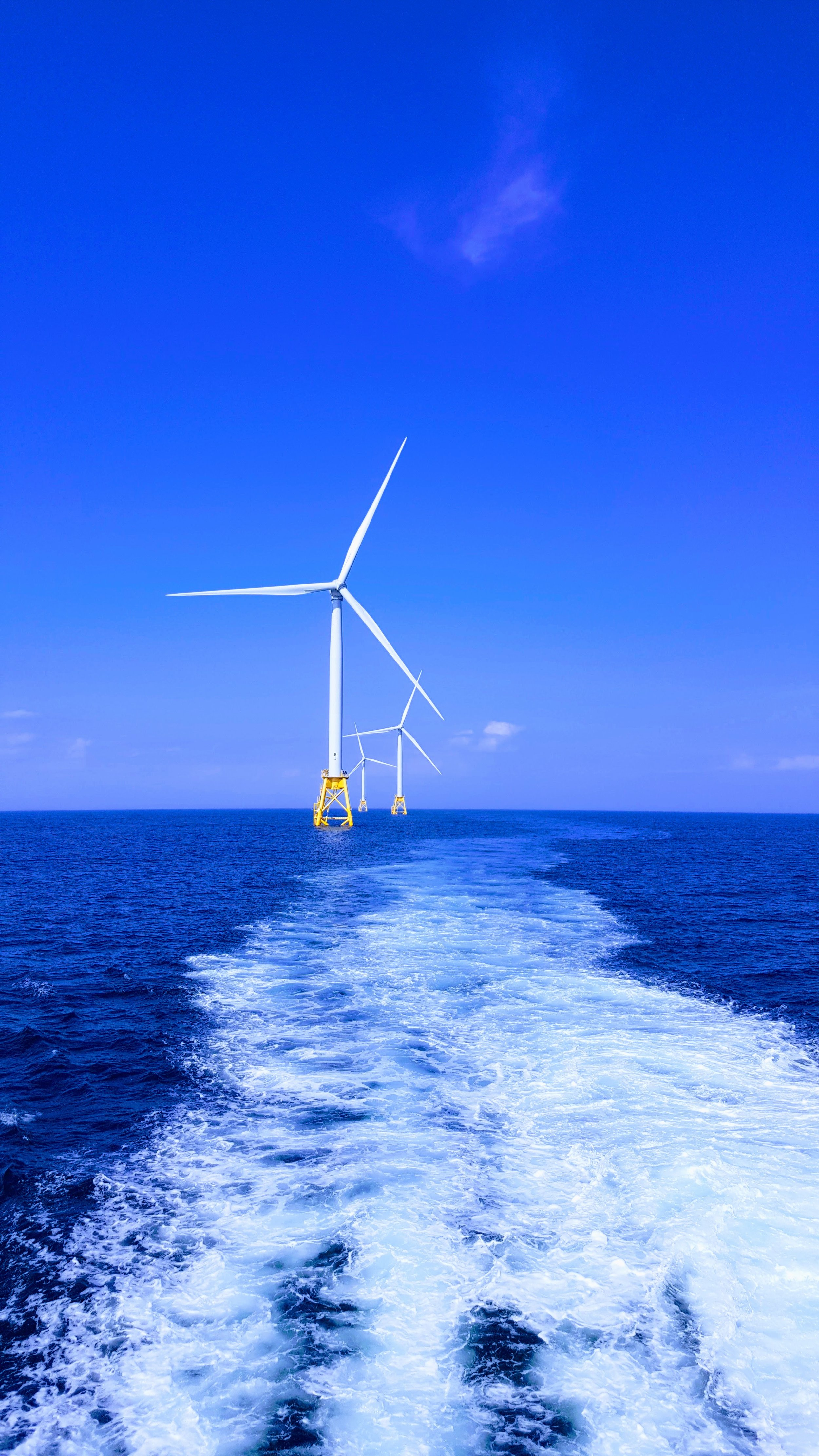 Onshore limits on turbine size could make offshore wind cheaper -