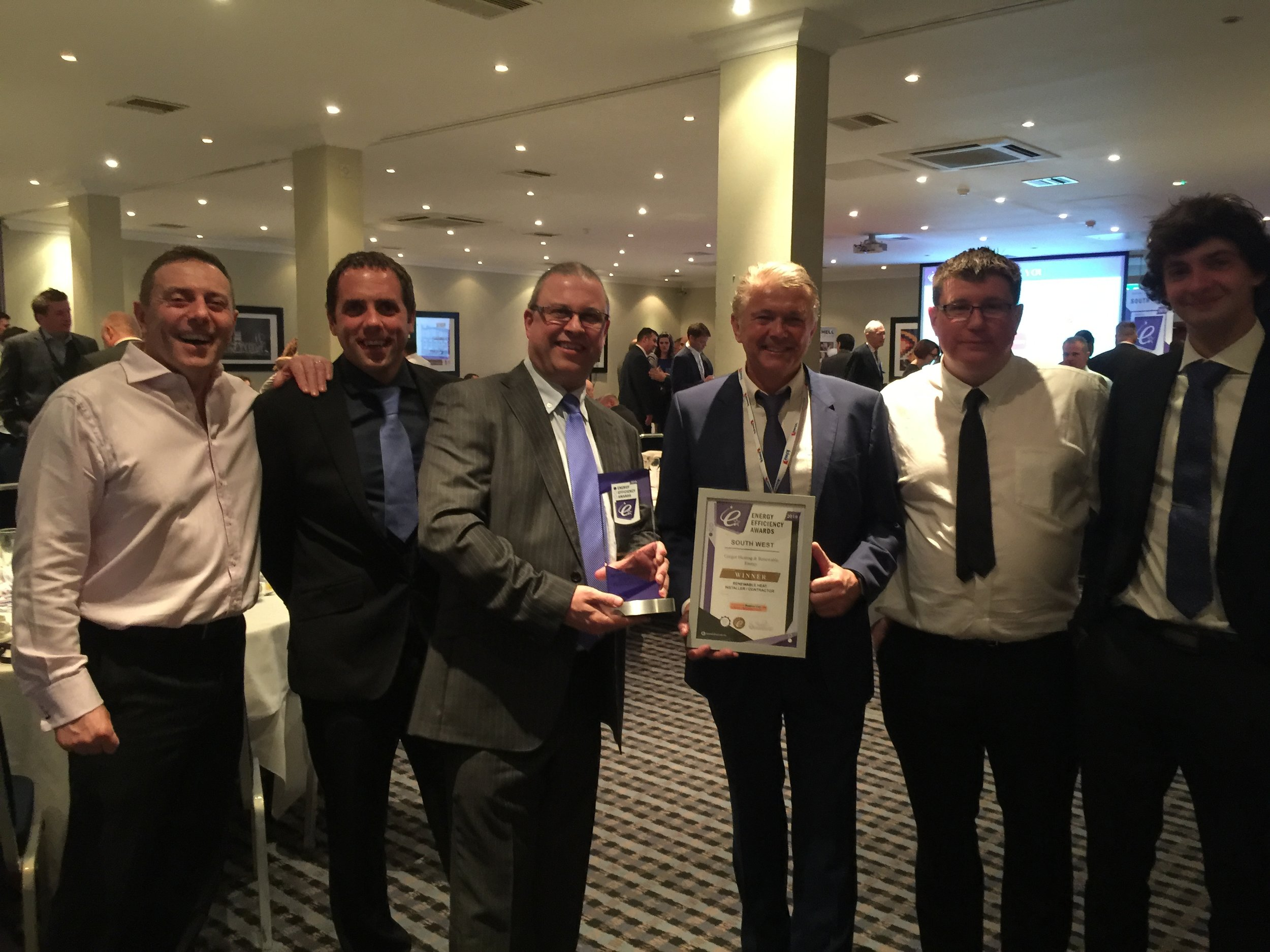 Gregor named Renewable Heat Installer at regional industry awards -