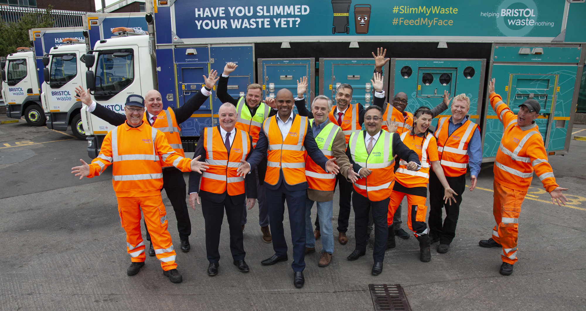 New Recycling Fleet for Bristol Unveiled -