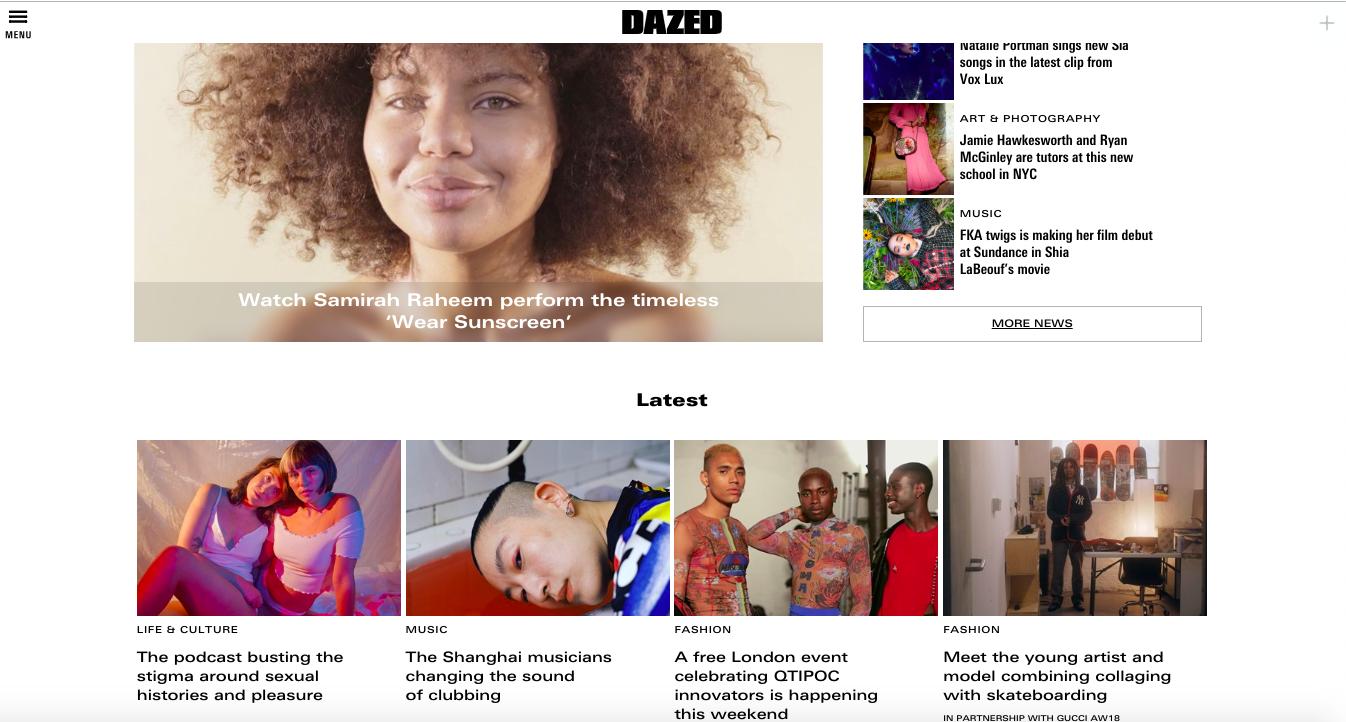 DAZED homepage.png
