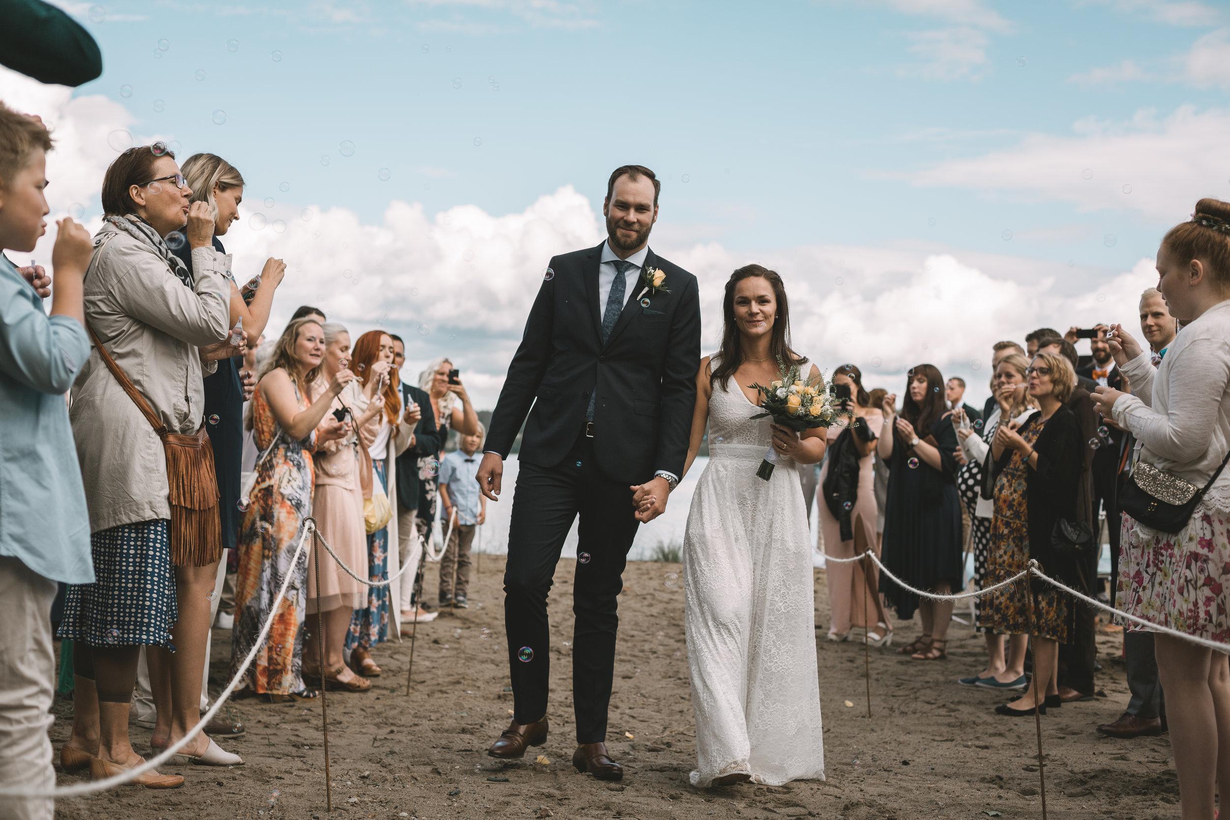 Bröllop på stranden i Tavelsjö - Kommer snart