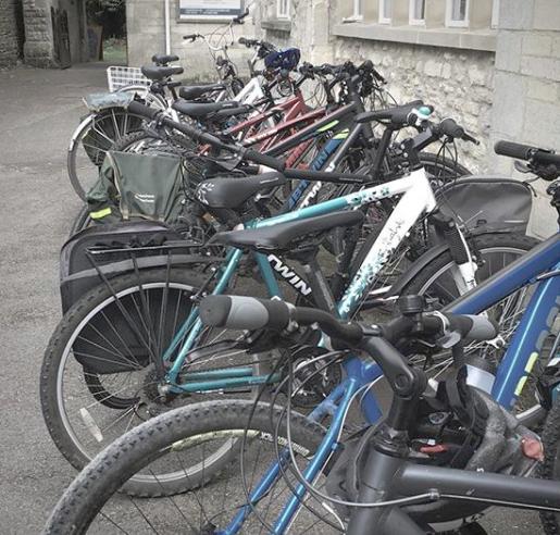 #cycletochurch -