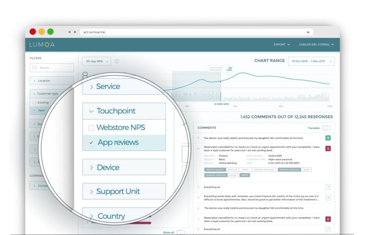 Analysera kundfeedback för specifika produkter