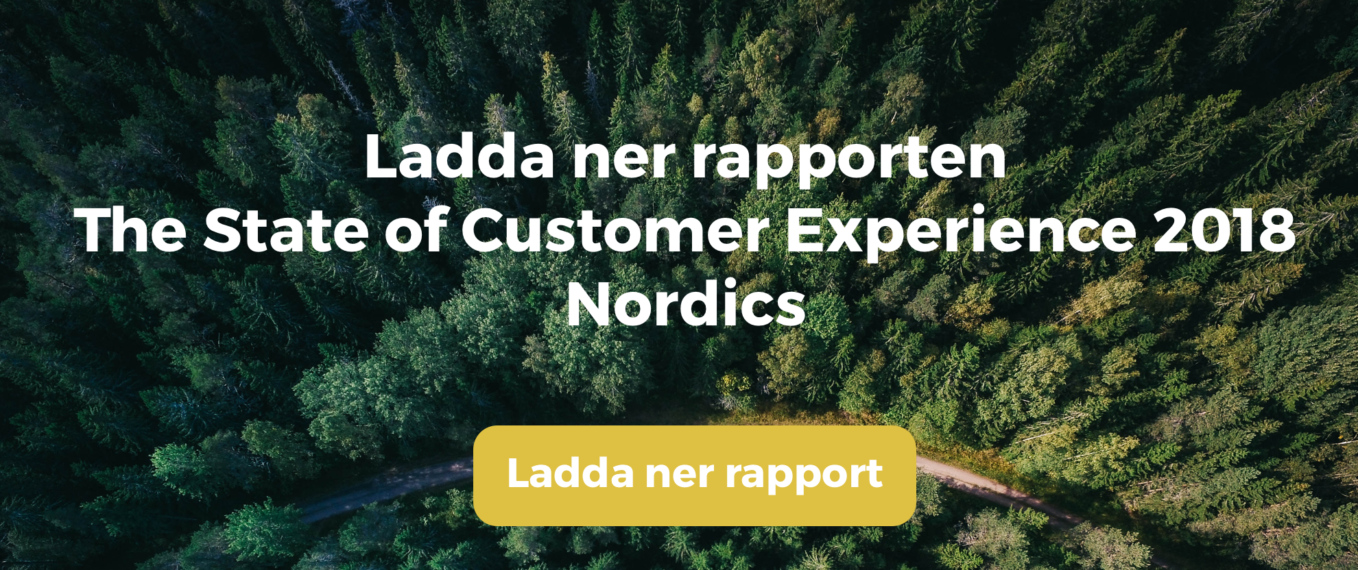State of customer experience 2018