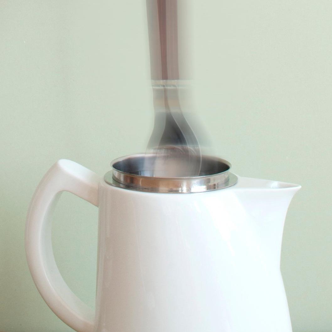 Stir gently -