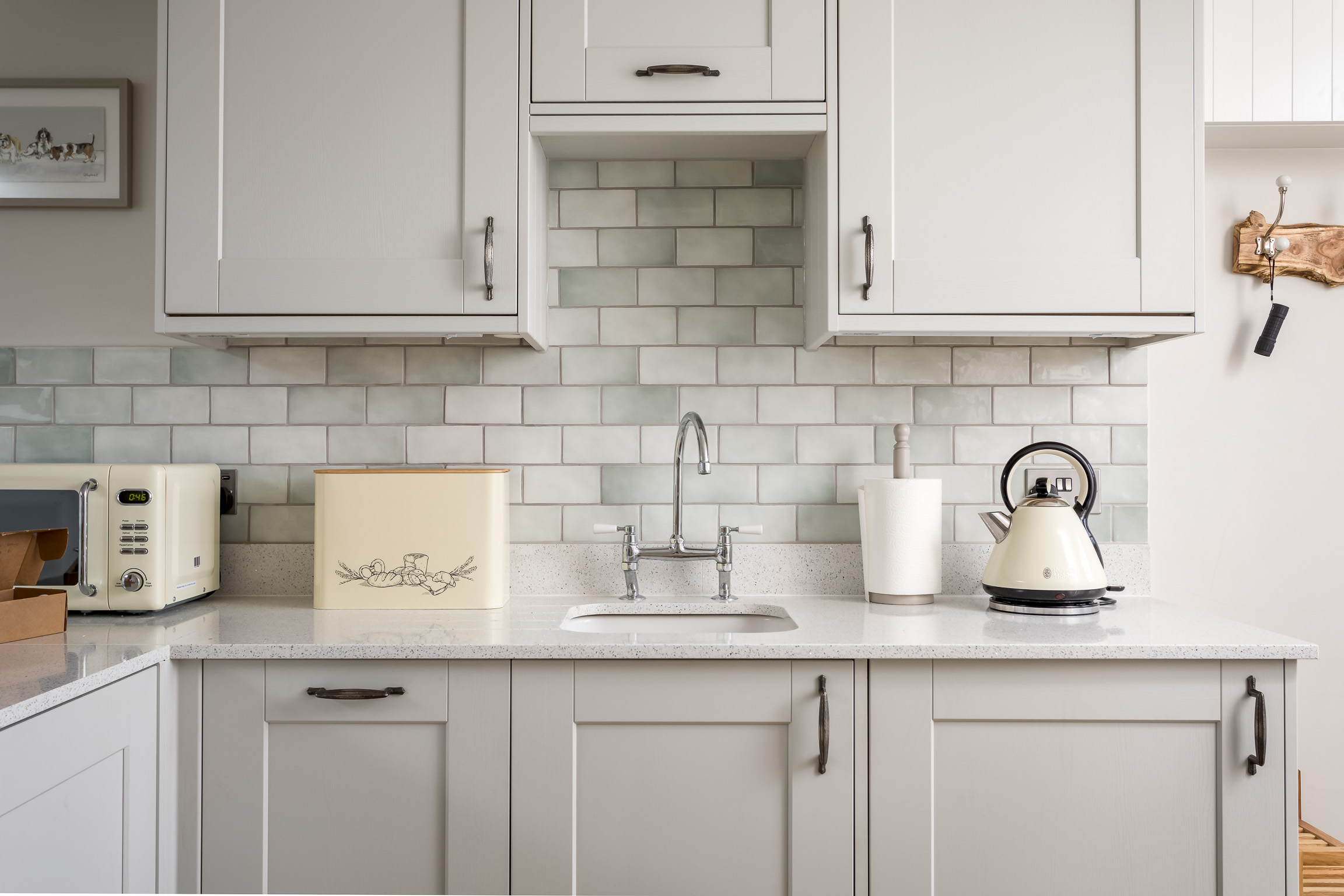 Kitchen: Toast, Boil and drink