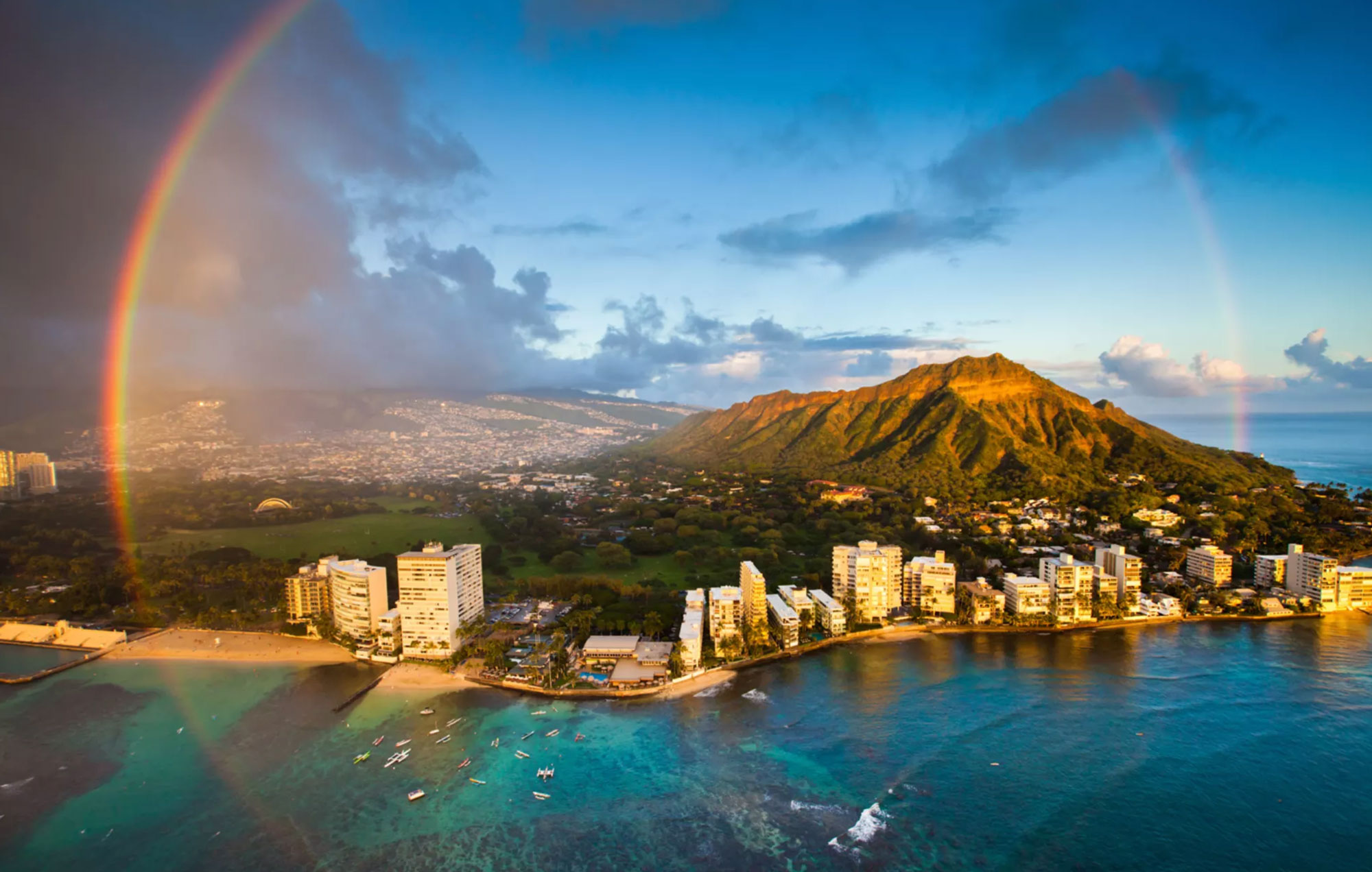 Gold Coast - Perfectly located just past Waikiki, offering a calmer ambience, but close enough to the bustle of Waikiki.